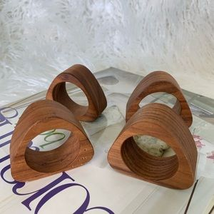 Other - Mid- Century Napkin Rings/ Holders